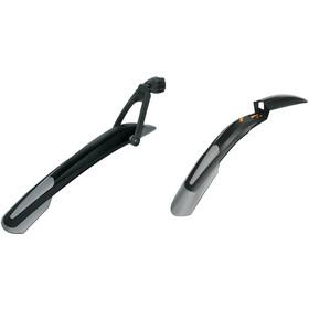 "SKS Shockblade & X-Blade - Juego de guardabarros - 26/27.5"" gris/negro"